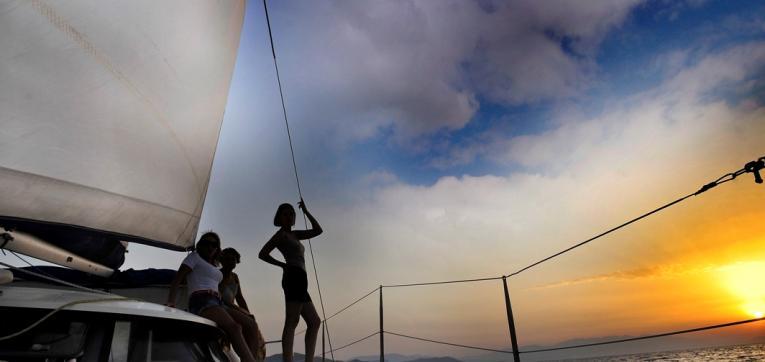 Прогулки на яхте